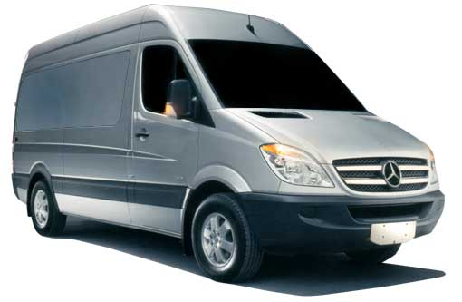 The first step in figuring out your cost is to choose a Mercedes Sprinter, Ford Transit, or a Dodge ProMaster van.