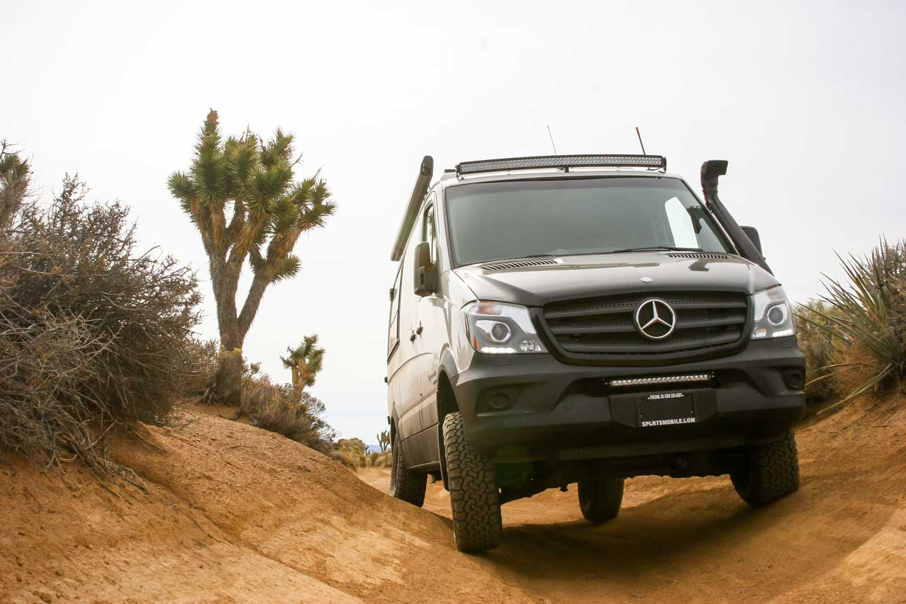 One of Sportsmobile's Most Popular Product Lines - Mercedes