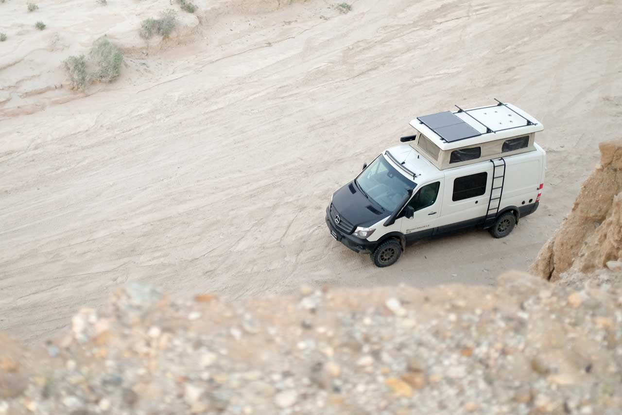 One of Sportsmobile's Most Popular Product Lines - Mercedes Sprinter 4x4