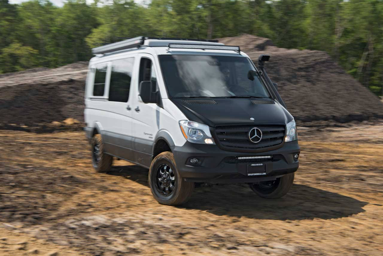 One of sportsmobile 39 s most popular product lines for Mercedes benz sprinter camper van