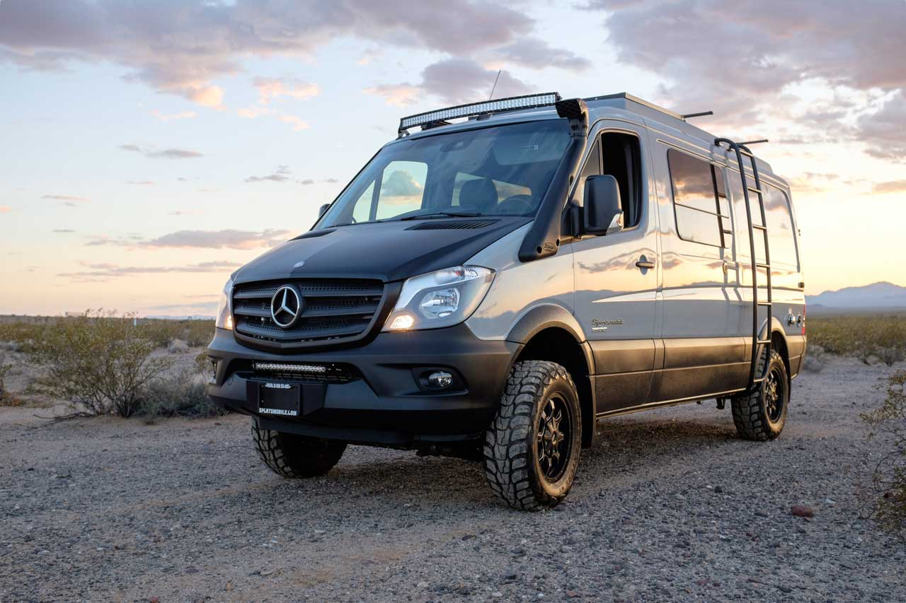 Sprinter Van Camper >> One Of Sportsmobile S Most Popular Product Lines Mercedes Sprinter 4x4