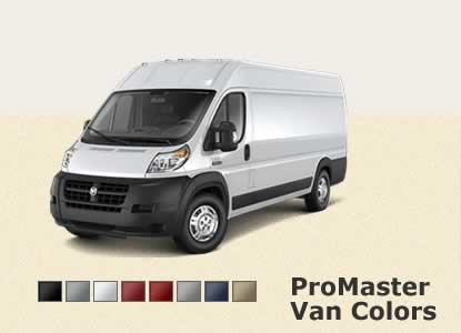 Dodge ProMaster - Color Selection