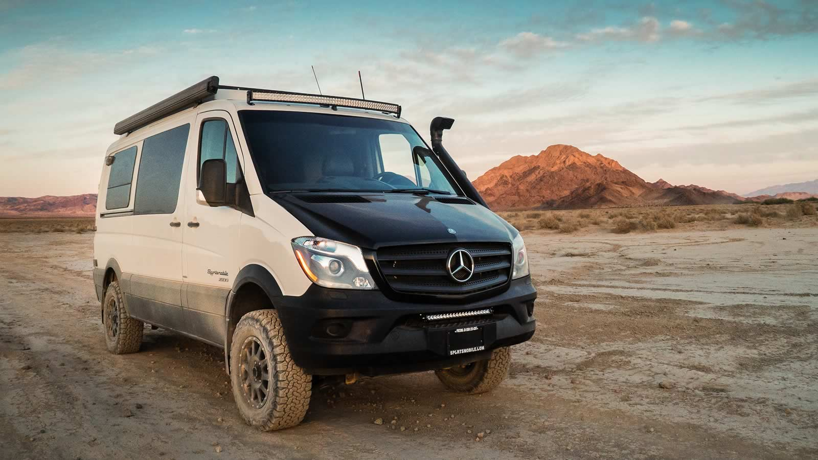 09af2f6347761c One of Sportsmobile s Most Popular Product Lines - Mercedes Sprinter 4x4
