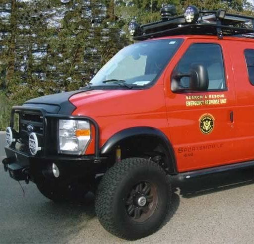 Conversion Example - Emergency Vehicles - Sportsmobile Search & Rescue Vehicles