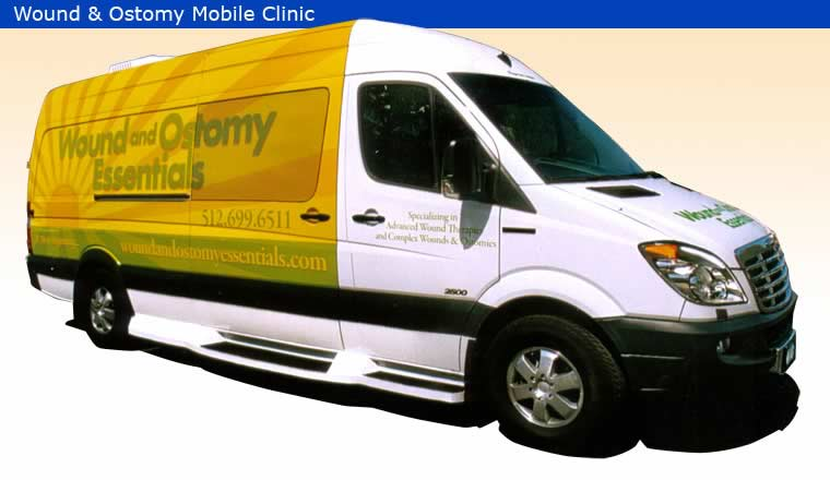 Conversion Example - Mobile Clinic - Wound & Ostomy Mobile Clinic