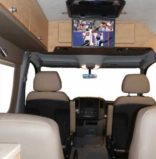 Conversion Example - Tailgater Van Sprinter EB
