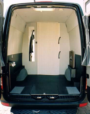 Conversion Example - Toy Hauler – Plenty of Room for Two Outdoor Recreationists