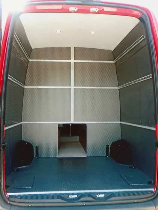 Conversion Example - Toy Hauler – Rear Compartment Garage