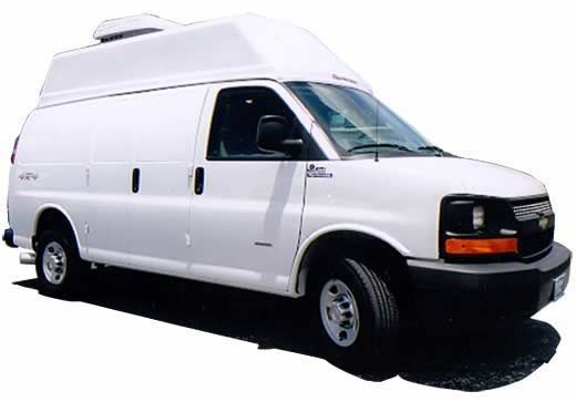 Conversion Example - Work Vans - 4×4 Chevy EB 1 Ton Diesel