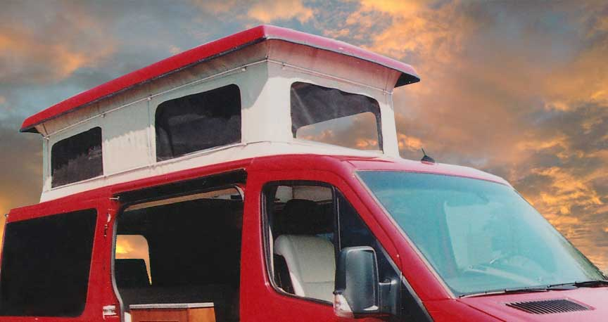 Sprinter Penthouse Top Ordering Custom Camper Van