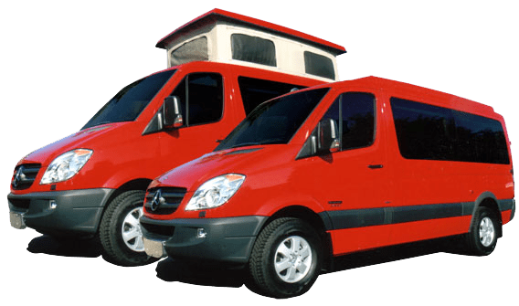 Standard Van Conversion Equipment Packages + Furnishings +