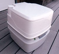 Porta Potti Manual Flush