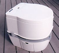 Porta Potti Curve Electric Flush