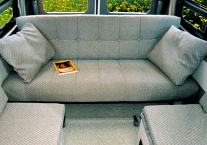 Campervan Sofa Bed With Seat Belts Review Home Co