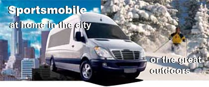 A Sportsmobile conversion is great not only in the great outdoors, but also when you are at home driving in the city.