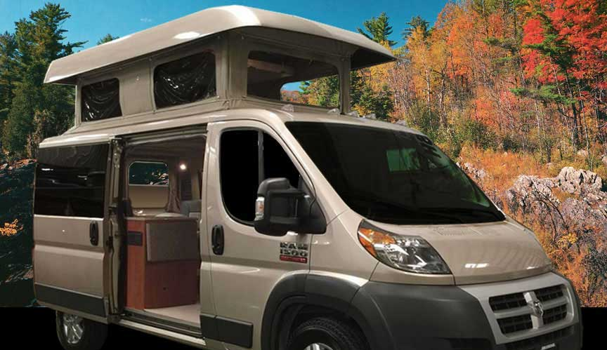 Promaster Penthouse Top Ordering Custom Camper Van