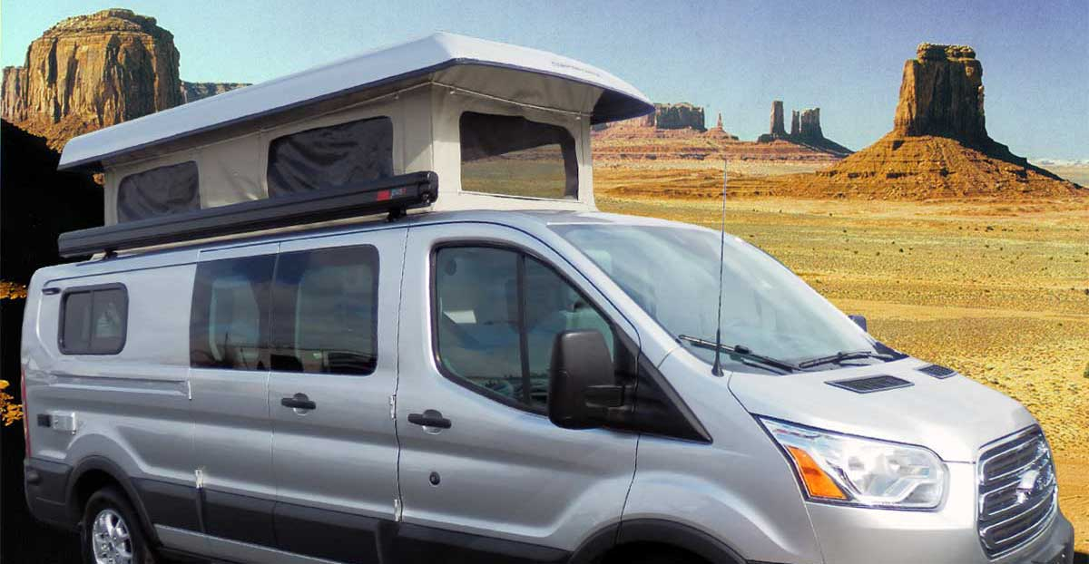 Transit Penthouse Top + Order - Custom Camper Van Conversions