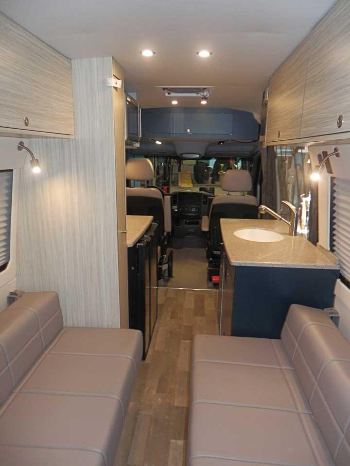 Sprinter Camper Van Conversion Examples Standard Plans