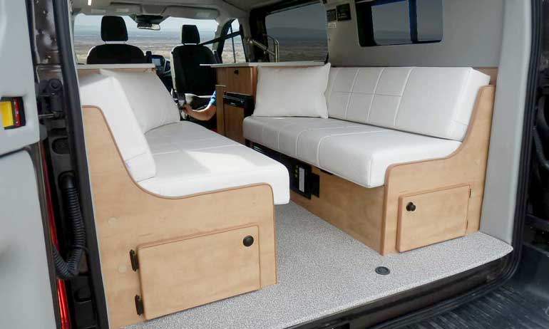Sportsmobile Choices + Seats + Baths + Windows - Van Conversions