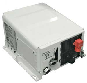Product view of energy inverter/charger.