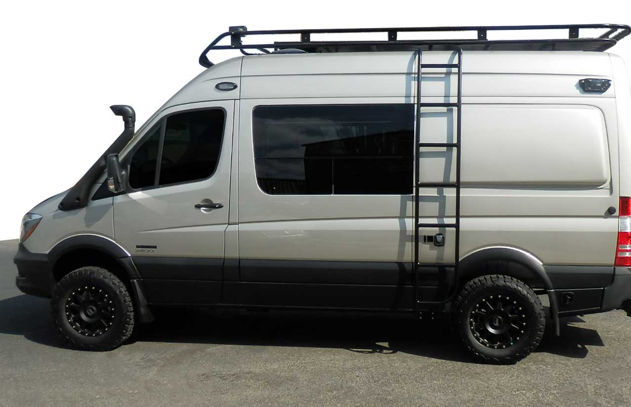 Exterior Van Options For Your Custom Van Conversion
