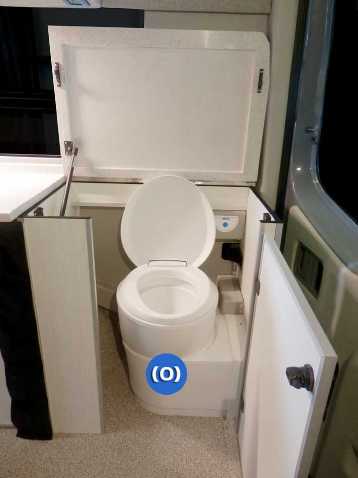 Small Cargo Vans >> Van Conversions + Design Baths + Porta Potti + Toilets + Showers