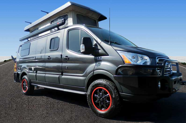 Quigley Ford Transit Conversion Van