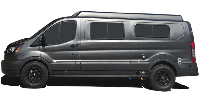 Standard Ford Transit Plans + Camper Conversion Van Examples