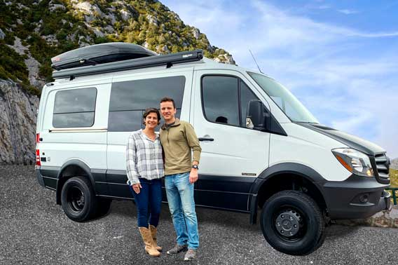 Sprinter 4x4 owners vacationing.