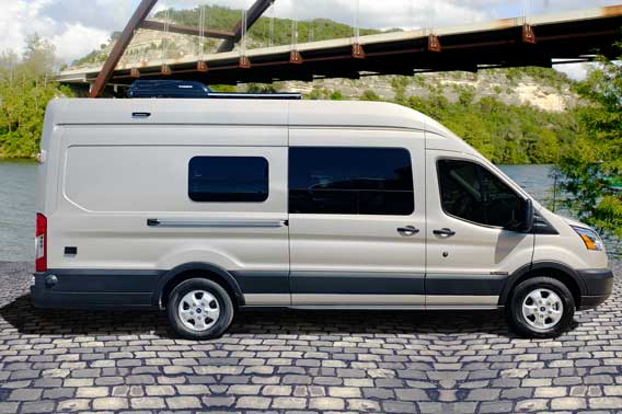 Ford Transit Extended Body Van Conversion