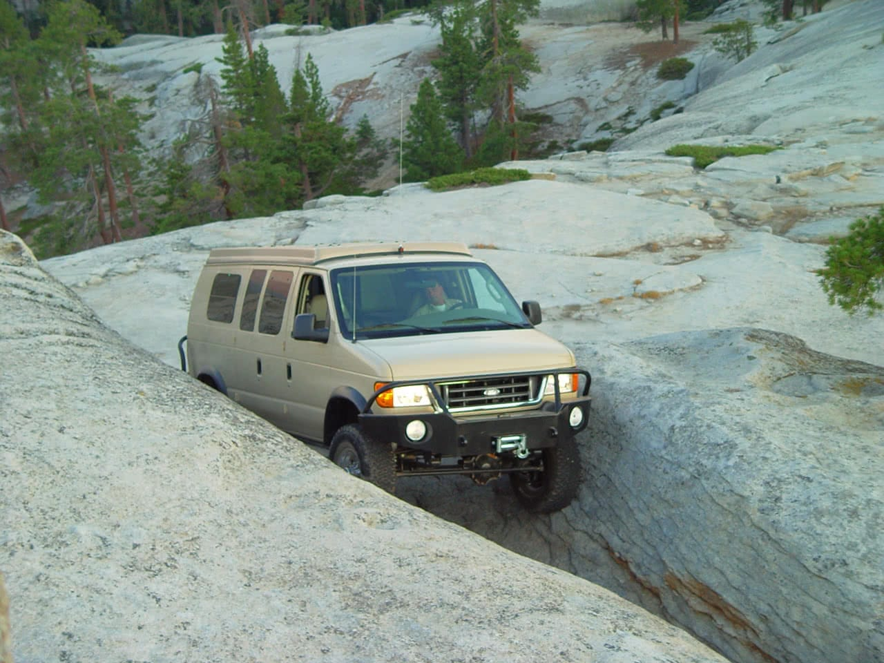 Sportsmobile Classic 4x4 in Bald Mountain Adventure